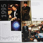 "Omega: ""Our Time with James Bond 007"" (open to ""GoldenEye"" pages"