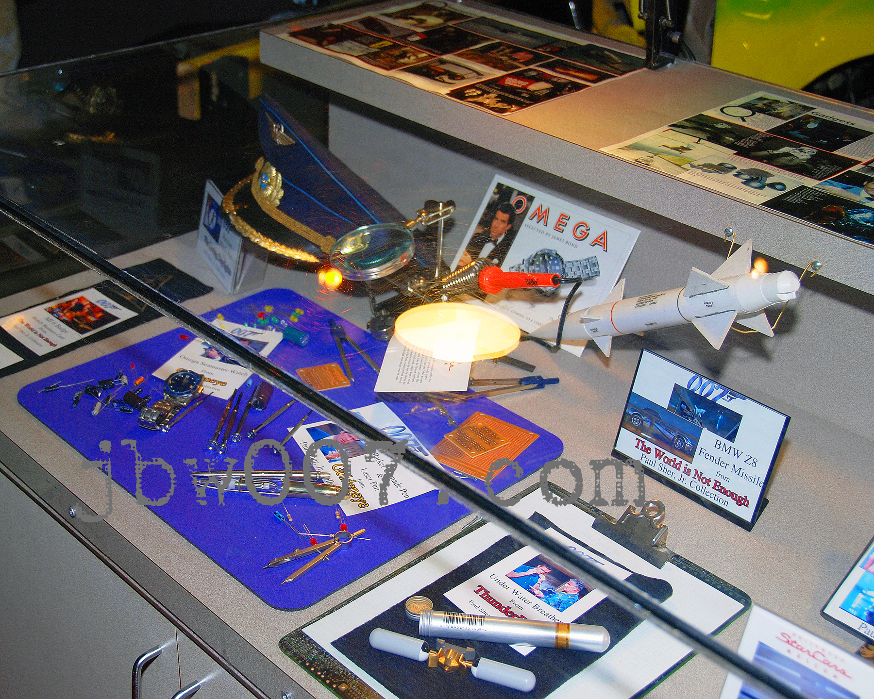 Stars Cars Museum Claims To Display Goldeneye Omega