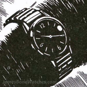comic strip - James Bond Watches Blog