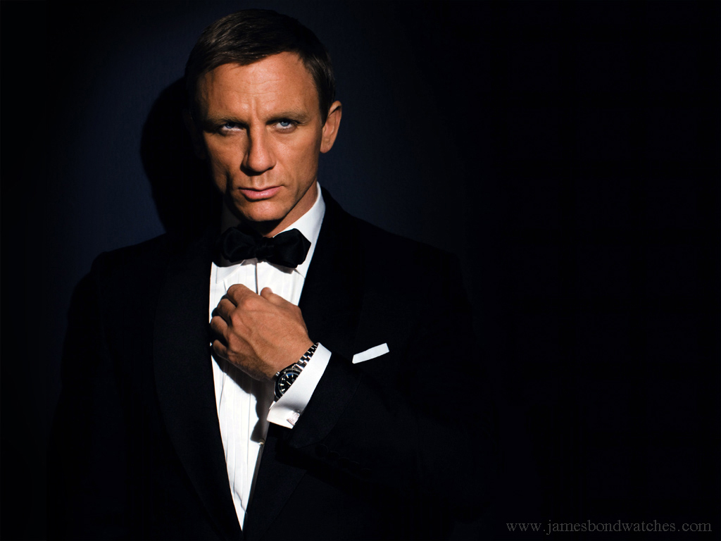 current james bond