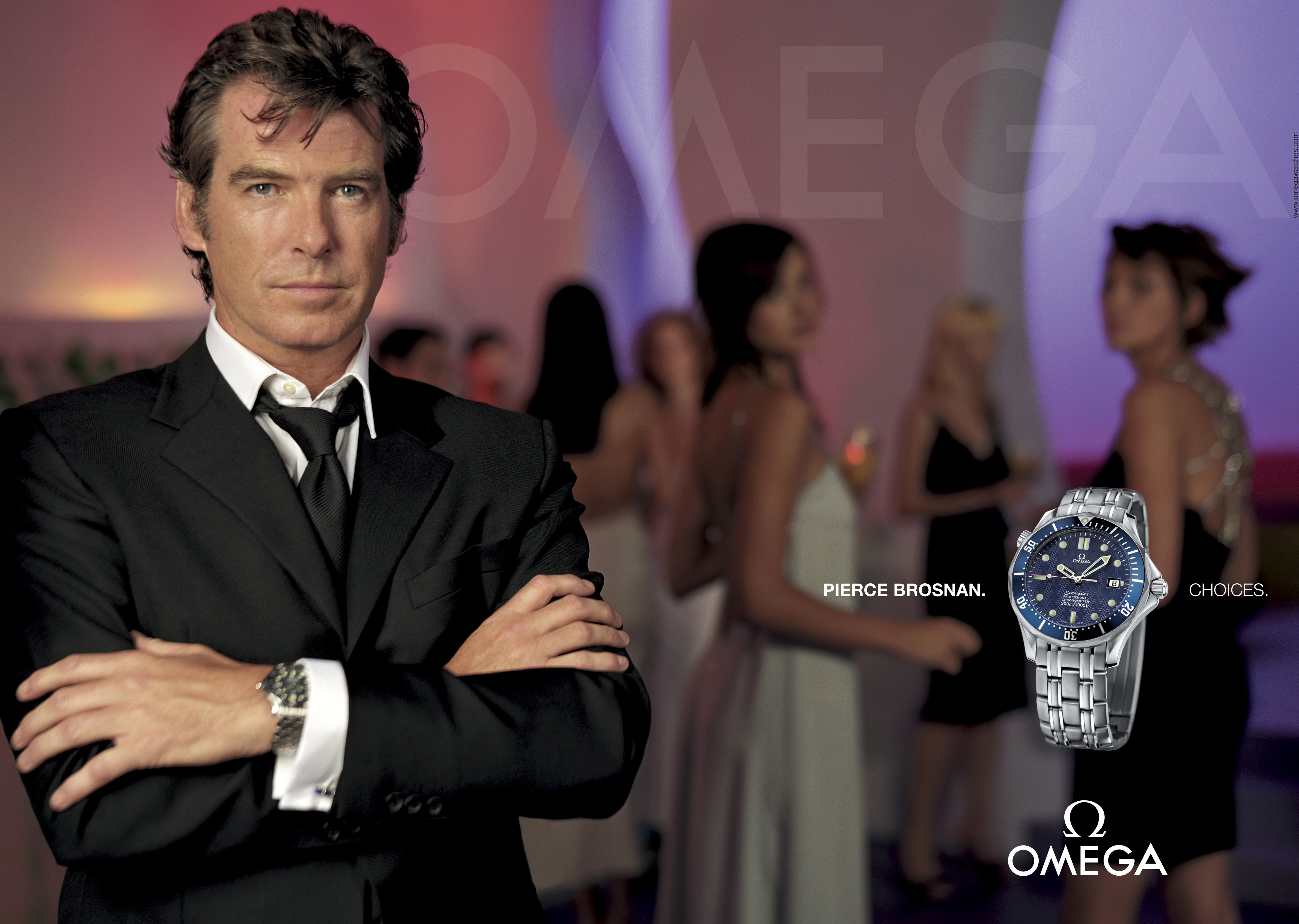 "1c3b593d29a Choices."" The New Omega Advertising Campaign - James Bond Watches Blog"