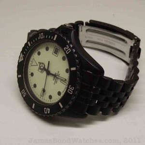 TAG Heuer 980.031 PVD Night Dive James Bond watch