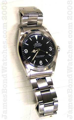 Although I'd actually identified all distinguishing details of the original literary James Bond watch in early 2008, it would be another full year before this discovery was published in WatchTime magazine