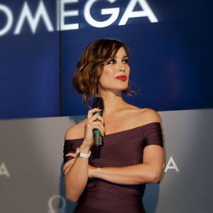 Bérénice Marlohe, newest Ambassador for Omega watches and Skyfall Bond girl