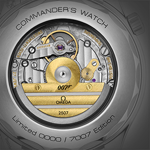 "Omega Seamaster ""Commander's Watch"" Limited Edition (caseback), reference 212.32.41.20.04.001"