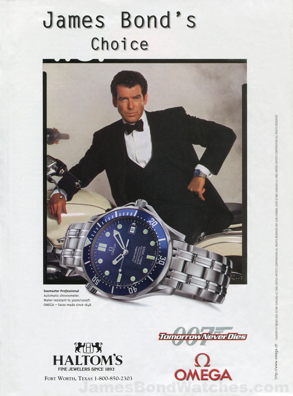 http://jamesbondwatchesblog.com/wp-content/uploads/2012/02/omega-james-bond-watch-ad-tomorrow-never-dies-pierce-brosnan-002c2.jpg
